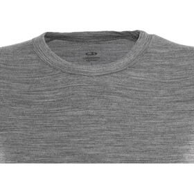 Icebreaker Sprite LS Crew Shirt Women gritstone heather